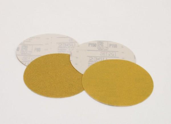 3M™ Hookit™ II Paper Disc 236U, 5 in x NH P180 C-weight, 50 per inner 250 per case