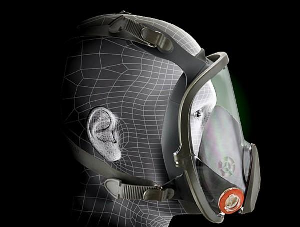 3M™ Full Facepiece Reusable Respirator 6800 Medium 1 Each