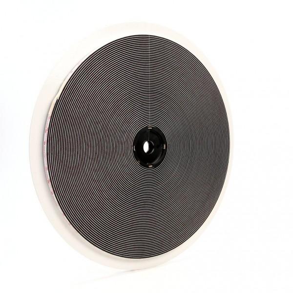 3M™ Dual Lock™ Reclosable Fastener SJ3551 400 Black, 1/2 in x 50 yd 0.22 in (5.6 mm), 4 per case Bulk