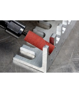 Standard Abrasives™ A/O Straight Cartridge Roll 722177, 5/16 in x 1/2 in x 1/8 in 80, 100 per case