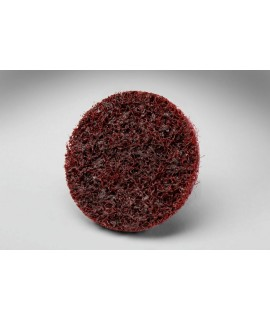 Scotch-Brite™ Roloc™ Surface Conditioning Disc TS, 3/4 in x NH A MED Reverse Button, 50 per inner 200 per case