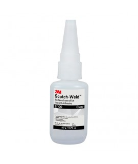 3M™ Scotch-Weld™ Surface Insensitive Instant Adhesive SI100, 0.11 oz/3 g Tube, 100 per case