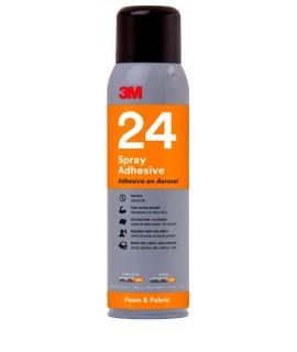 3M™ Foam & Fabric 24 Spray Adhesive Orange, Net Wt 13.8 oz, 12 cans per case