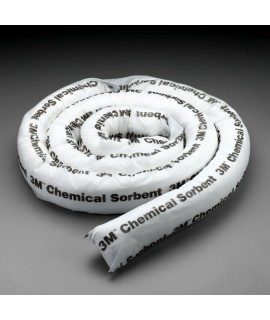 3M™ Chemical Sorbent Mini-Boom P-212, Environmental Safety Product, 12 gallons, 4 ea/cs
