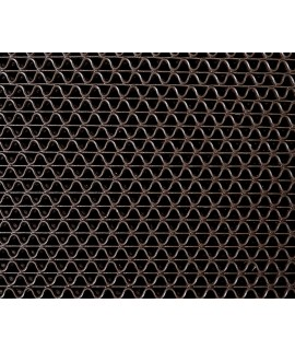 3M™ Nomad™ Z-Web Medium Traffic Scraper Matting 6250, Brown, 3 ft x 5 ft, 1/case