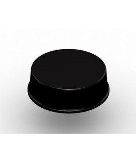 3M™ Bumpon™ Protective Products SJ6148 Black, 2500 per case