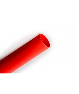 """3M™ Heat Shrink Thin-Wall Tubing FP-301-3/64-48""""-Red-250 Pcs, 48 in Length sticks, 250 pieces/case"""