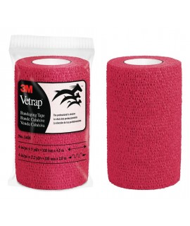 3M™ Vetrap™ Bandaging Tape Bulk Pack, 1410R Bulk Red