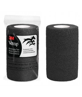 3M™ Vetrap™ Bandaging Tape Bulk Pack, 1410BK Bulk Black