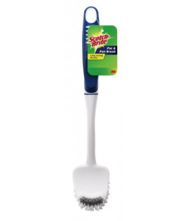 Scotch-Brite® Pot, Pan and Dish Brush 496, 6/1