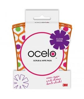 ocelo™ Scrub 'N Wipe SW 2, 12/2, 4.5 in x 2.7 in x .6 in, 2pk