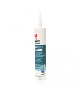3M™ Marine Grade Silicone Sealant White, PN08027, 1/10 Gallon Cartridge, 12 per case