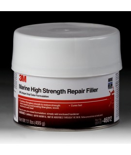 3M™ Marine High Strength Repair Filler, 46012, 1 Pint, 6 per case