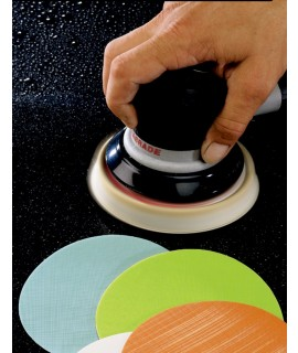 3M™ Hookit™ Microfinishing Film D/F Disc 366L, Type D, 3 in x NH 3 Holes 30 Micron, 1000 per case