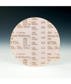 3M™ Diamond Microfinishing PSA Film Disc 675L, 5 in x NH 125 Micron, 1 per case