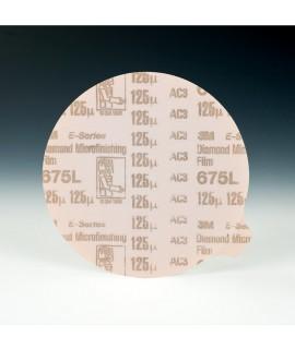 3M™ Diamond Microfinishing PSA Film Disc 675L, 5 in x NH 125 Micron, 1 per case