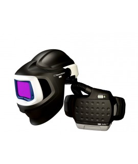 3M™ Adflo™ PAPR with 3M™ Speedglas™ 9100MP Welding Helmet 37-1101-30SW, HE, Li Ion Battery, Hard Hat, ADF 9100XX, 1 EA/Case