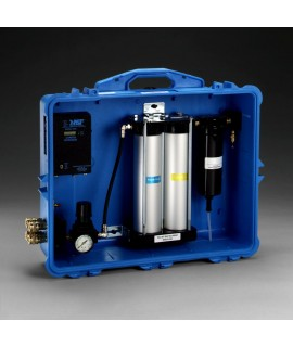 3M™ Portable Compressed Air Filter and Regulator Panel 256-02-00, 50 cfm, 4 outlets, with Carbon Monoxide Filtration and Monitor 1 EA/Case