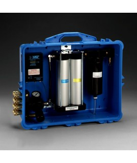 3M™ Portable Compressed Air Filter and Regulator Panel 256-02-01, 100 cfm, 8 outlets, with Carbon Monoxide Monitor 1 EA/Case