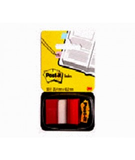 Post-it® Flags 680-1 (36) 1 in x 1.7 in (25,4 mm x 43,2 mm) Red 50/dispenser