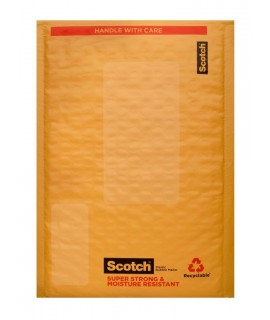 Scotch™ Poly Bubble Mailer 8913, 6 in x 9 in