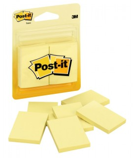 Post-it® Notes 2031 1-1/2 in x 2 in Canary Yellow