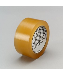3M™ General Purpose Vinyl Tape 764 Transparent, 1 in x 36 yd 5.0 mil, 36 per case Bulk