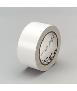 3M™ General Purpose Vinyl Tape 764 White, 1 in x 36 yd 5.0 mil, 36 per case Bulk