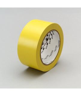 3M™ General Purpose Vinyl Tape 764 Yellow, 1 in x 36 yd 5.0 mil, 36 per case Bulk