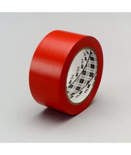 3M™ General Purpose Vinyl Tape 764 Red, 1 in x 36 yd 5.0 mil, 36 per case Bulk