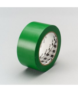3M™ General Purpose Vinyl Tape 764 Green, 1 in x 36 yd 5.0 mil, 36 per case Bulk