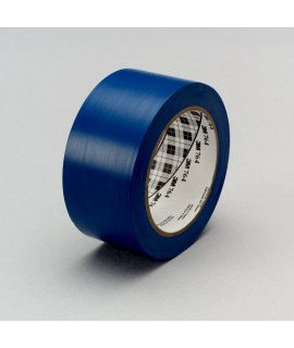 3M™ General Purpose Vinyl Tape 764 Blue, 1 in x 36 yd 5.0 mil, 36 per case Bulk