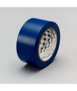 3M™ General Purpose Vinyl Tape 764 Blue, 1 in x 36 yd 5.0 mil, 36 per case Bulk