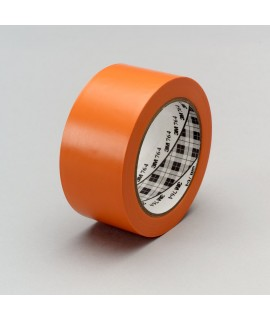3M™ General Purpose Vinyl Tape 764 Orange, 1 in x 36 yd 5.0 mil, 36 per case Bulk
