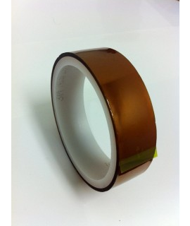 3M™ Low-Static Non-Silicone Polyimide Film Tape 7419, 4 mm x 33 m, 124 per case