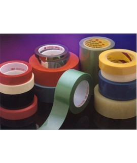 3M™ Polyester Film Tape 854 White, 1 in x 72 yd 2.7 mil, 36 per case Bulk
