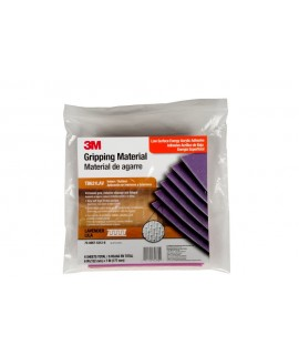 3M™ Gripping Material TB631LAV Lavender, 6 in x 7 in sheets, 6 per bag
