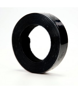 3M™ Fastener TB3571/TB3572 Hook/Loop Black, 1 in (25.4 mm) x 10 ft (3.05 m), 1 mated strip per bag 8 bags per case