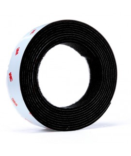 3M™ Fastener TB3526N/TB3527N Hook/Loop Black, 1 in x 10 ft, 1 mated strip per bag 8 bags per case