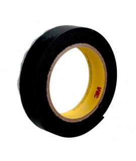 3M™ High Tack Loop Fastener Tape SJ30L Black, 5/8 in x 25 yd, 4 rolls per case Bulk