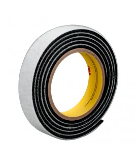 3M™ Dual Lock™ Reclosable Fastener SJ3444 170 Black, 1 in x 50 yd 0.28 in (7.1 mm), 2 per case Bulk