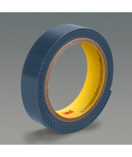 3M™ Fastener SJ3519FR Hook Flame Resistant Navy Blue, 1-1/2 in x 50 yd 0.15 in Engaged Thickness, 2 rolls per case Bulk