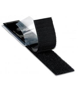 3M™ Fastener SJ3523 Loop Plasticizer Resistant S030 Black, 1-1/2 in x 50 yd 3.1 mm Engaged Thickness, 2 per case Bulk