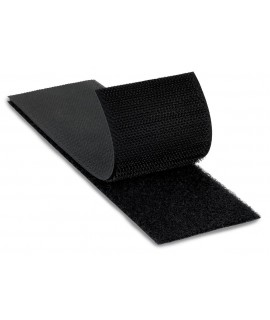 3M™ Fastener SJ3418FR Loop Flame Resistant Black, 4 in x 50 yd 0.15 in Engaged Thickness, 3 per case Bulk