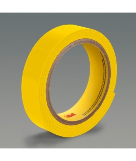 3M™ Fastener SJ3419FR Hook Flame Resistant S002 Yellow, 4 in x 50 yd 0.15 in Engaged Thickness, 3 per case Bulk