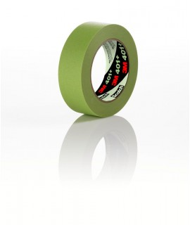 3M™ High Performance Green Masking Tape 401+, 6 mm x 55 m, 96 rolls per case Bulk