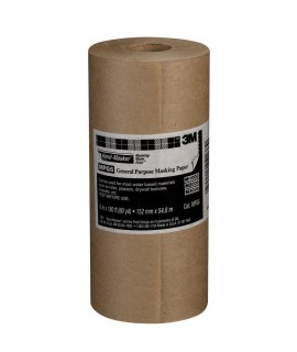 3M™ Hand-Masker™ General Purpose Masking Paper MPG6, 6 in x 60 yd