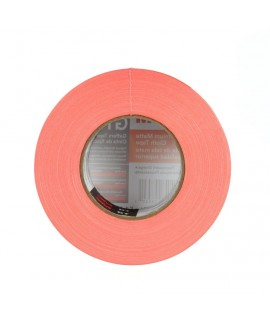 3M™ Premium Matte Cloth (Gaffers) Tape GT2 Fluorescent Orange, 48 mm x 50 m 11 mil,  24 rolls per case