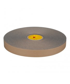 3M™ Urethane Foam Tape 4318 Charcoal Gray, 1/4 in x 36 yd, 36 per case