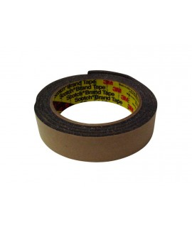 3M™ Urethane Foam Tape 4314 Charcoal Gray, 1/2 in x 18 yd 250.0 mil, 3 per box, 6 boxes per case
